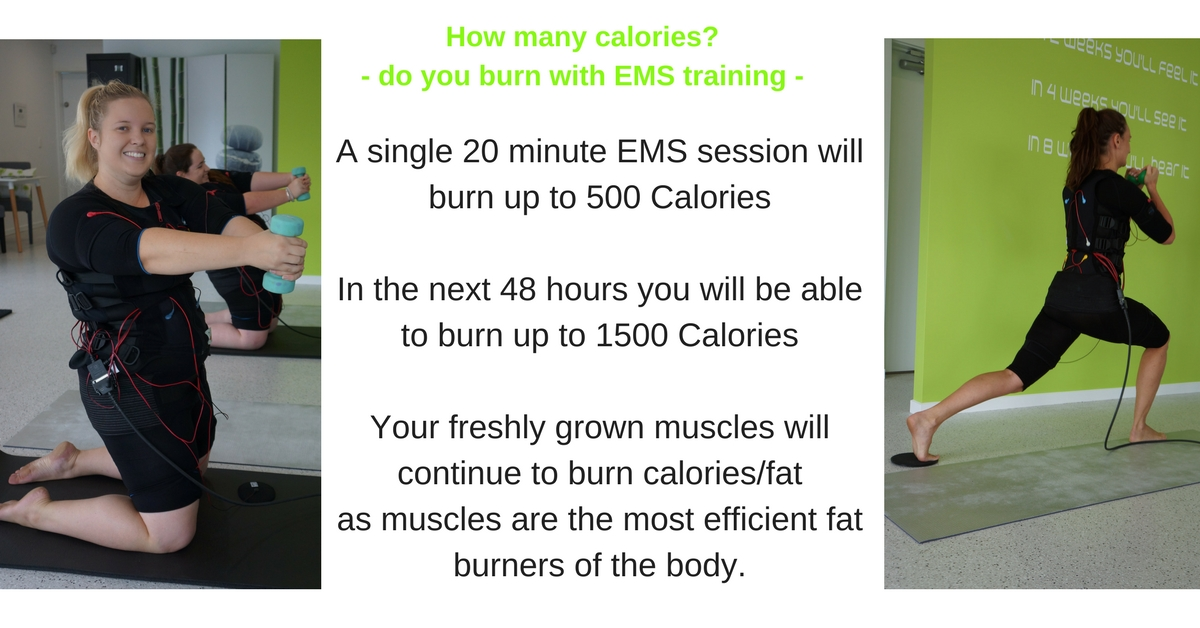 How Many Calories Do You Burn With Ems Training
